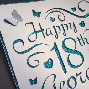 scan and cut birthday card